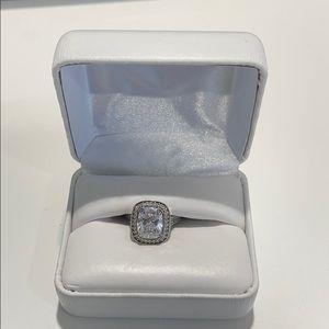 Beautiful Simulated Diamond Ring